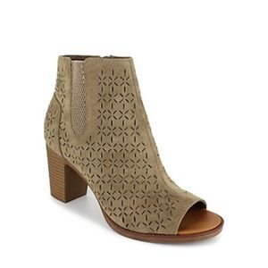 Rock and Candy by ZiGi Perforated Booties Taupe 9